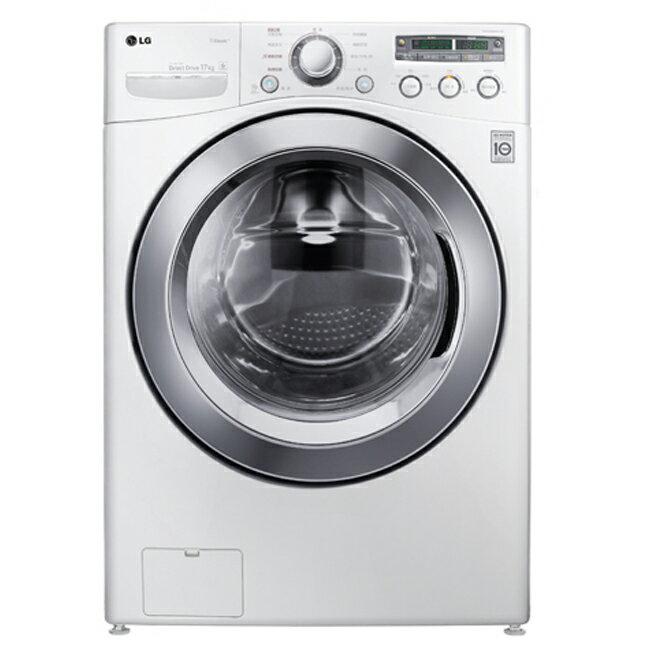 ★預購★【LG樂金】17公斤 6 MotionDD蒸氣滾筒洗衣機。炫麗白/WD-S17NBW