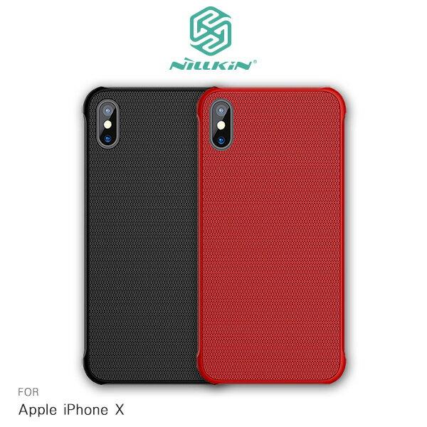 強尼拍賣~NILLKINAppleiPhoneX鋼甲手機殼保護殼手機殼半覆式