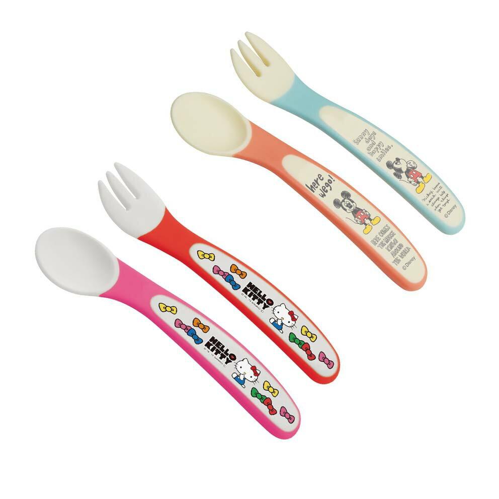 SKATER兒童餐具組(叉子+湯匙)(HELLO KITTY/254956)(DISNEY/250316)