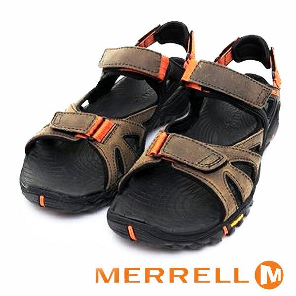 【MERRELL 促銷8折│全店免運】MERRELL-ALL OUT BLAZE SIEVE CONVERT男水陸兩棲鞋ML32839-咖