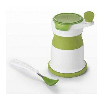 輕鬆搞定嬰兒食物泥 OXO嬰兒輔食研磨器(附矽膠軟匙)