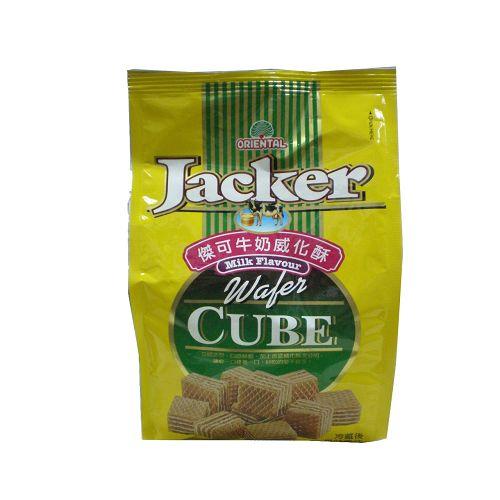 Jacker傑可牛奶威化酥200g【愛買】
