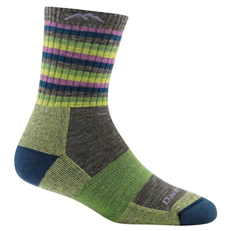 Darn Tough 羊毛襪/美麗諾羊毛襪 女款 STRIPES 1904 萊姆條紋 LI/ST