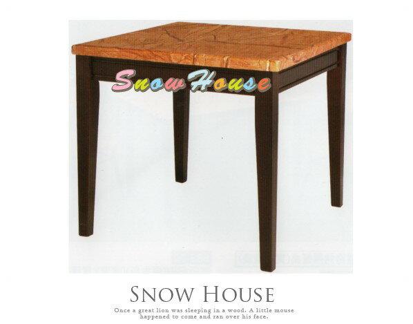 ╭☆雪之屋居家生活館☆╯AA741-02325琥珀色石面餐桌飯桌(DIY自組)兩款可選