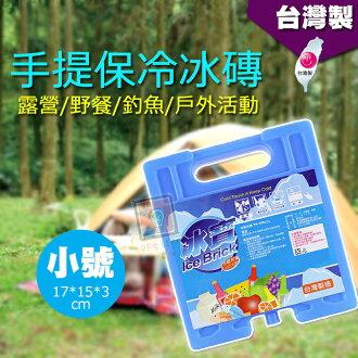 ORG《SD0978a》台灣製造~小號下標區 手提 保冷磚 冰磚 冰寶 保冷劑 冷煤劑 冷媒磚 露營 戶外 釣魚 保鮮