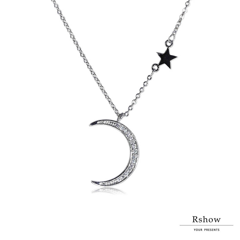 【Rshow】Moon light 沐浴月光下 微鑲鎖骨鍊 1