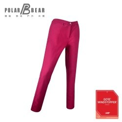 【POLAR BEAR】女WINDSTOPPER SOFT SHELL防風煙管長褲