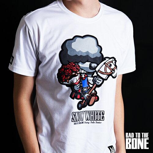 王子黑貴賓 T【閃耀版╱白】PRINCE POODLE by Bad To The Bone