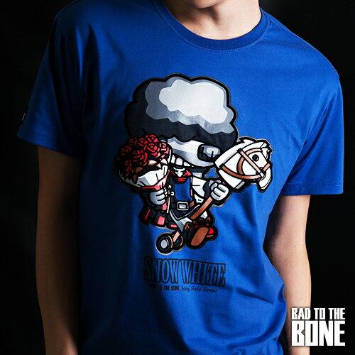王子黑貴賓 T【閃耀版╱藍】PRINCE POODLE by Bad To The Bone