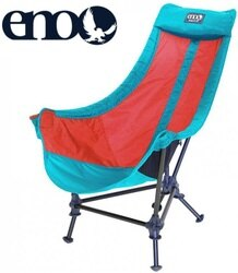 ENO 折疊椅/露營椅 Lounger DL Chair 懶人椅 LD073 水藍/紅