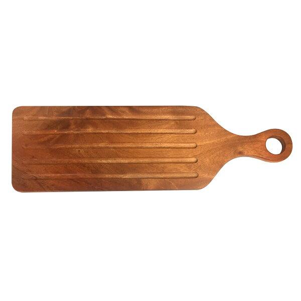 原然北歐風鐵木坊木製披蕯盤1入-大CA7806披蕯長盤廚房餐具露營用品料理長盤