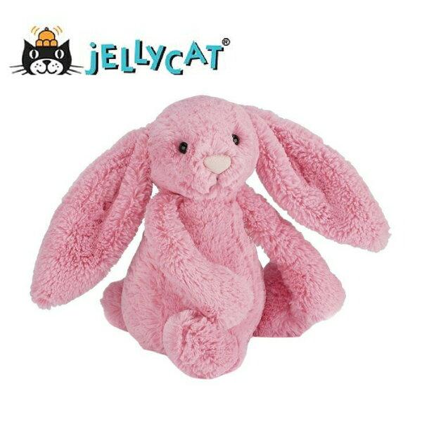 ★啦啦看世界★Jellycat英國玩具18公分粉小兔玩偶彌月禮生日禮物情人節聖誕節明星療癒辦公室小物