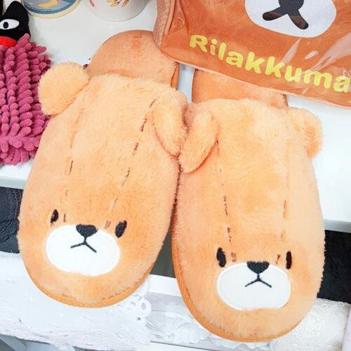 日本上學熊拖鞋室內拖鞋冬季保暖041101