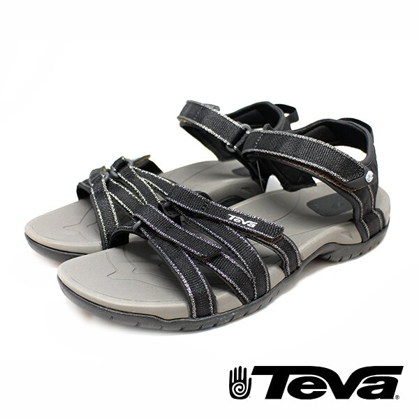 【TEVA 促銷8折│全店免運】】TEVA 美國 女 Tirra 機能運動涼鞋 黑-TV1004547BLK