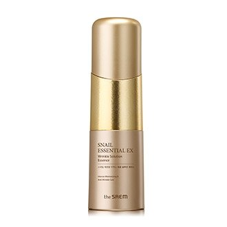 韓國 the SAEM Snail Essential 蝸牛抗皺精華液 50g Snail Essential EX Wrinkle Solution Essence【辰湘國際】