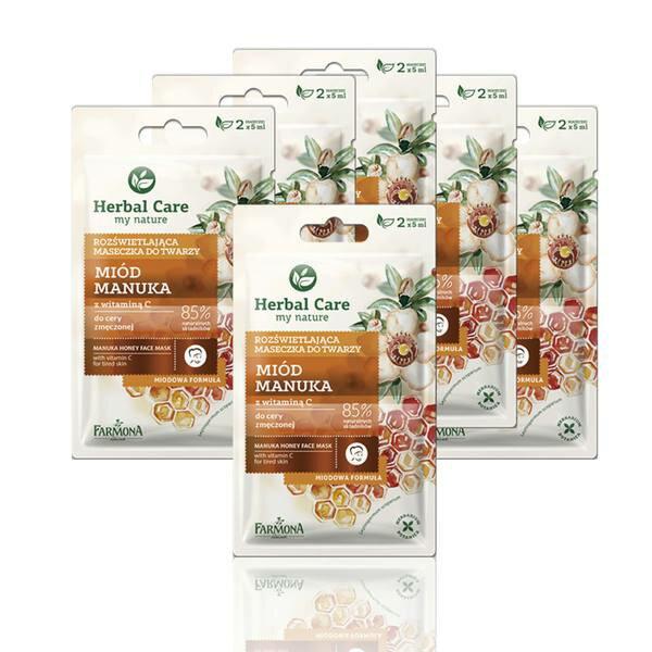 【HerbalCare】麥盧卡蜂蜜導引面膜6入組