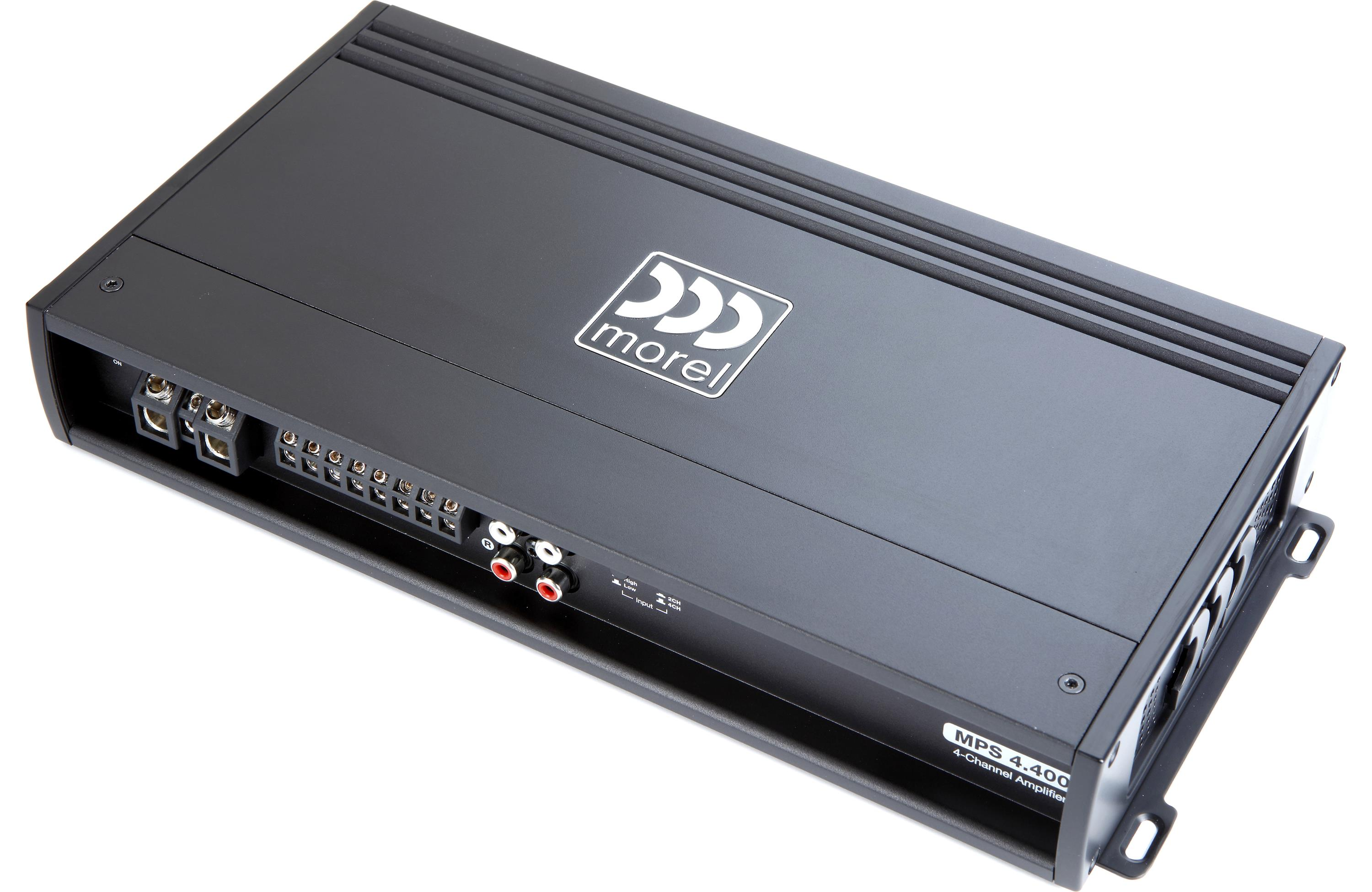 Morel MPS 4 400 4-Channel Car Amplifier 70 watts RMS x 4