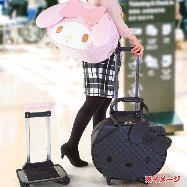 kitty美樂蒂肩背包側背包行李箱登機箱旅行箱分離式滾輪推車大頭凱214954美215005
