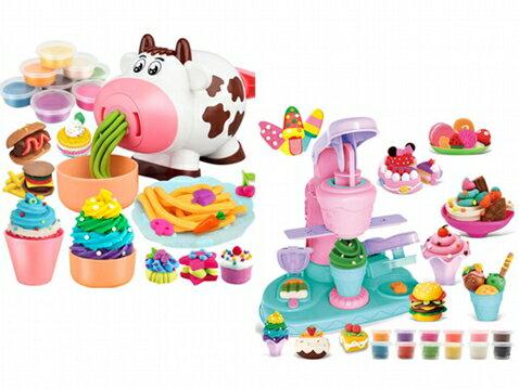 兒童趣味黏土玩具(1組入) 款式可選【小三美日】◢D021673