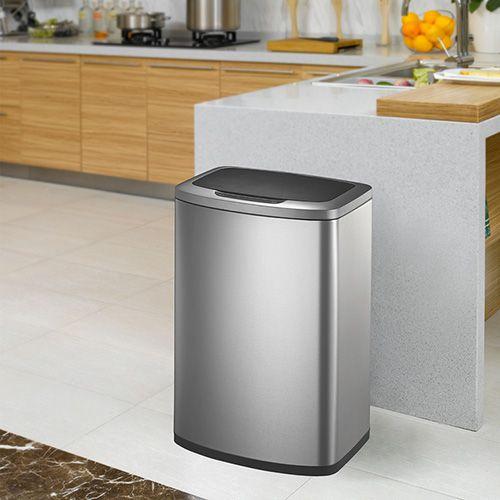 EKO 80L 不鏽鋼感應式垃圾桶