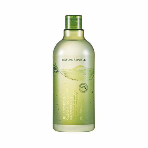 韓國NatureRepublic濟州島碳酸H2O卸妝水510ml【櫻桃飾品】【27102】