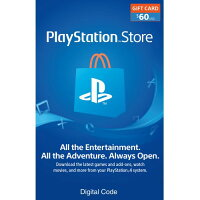 Rakuten.com deals on $60 PlayStation Store Gift Card Email Delivery