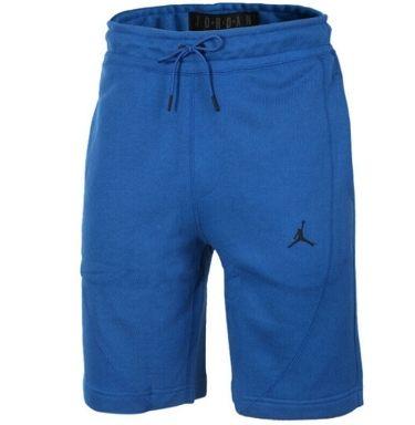 NIKE JORDAN AS JAW WUNGS FLEECE SHORT 男裝 短褲 籃球 棉質 針織 透氣 藍【運動世界】884279-014