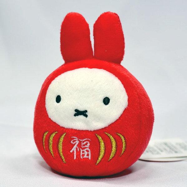 NOBA 不只是禮品:Miffy米菲兔吊飾福不倒翁造形絨毛玩偶日本帶回正版商品