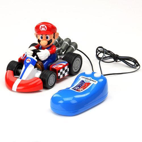 日本代購預購 MARIO 超級瑪莉歐 瑪莉兄弟 WII 有線 遙控汽車 玩具車 788-263