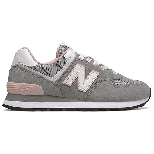 Shoestw【WL574VDG】NEW BALANCE NB574 運動鞋 Wide 愛心 灰粉紅 女生尺寸 0