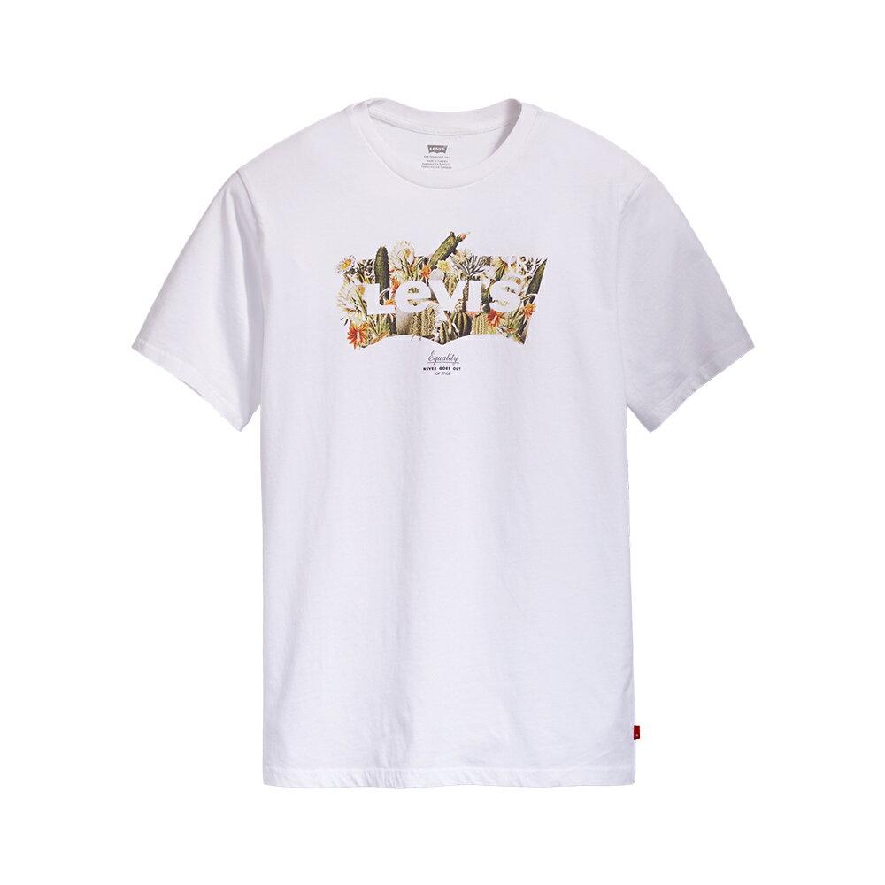 Levis 男款 短袖T恤  /  翻玩夏日Logo T  /  沙漠Logo印花-AC 1