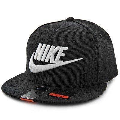 【H.Y SPORT】Nike True Futura Snapback 584169-010 棒球帽 刺繡 黑白 正版