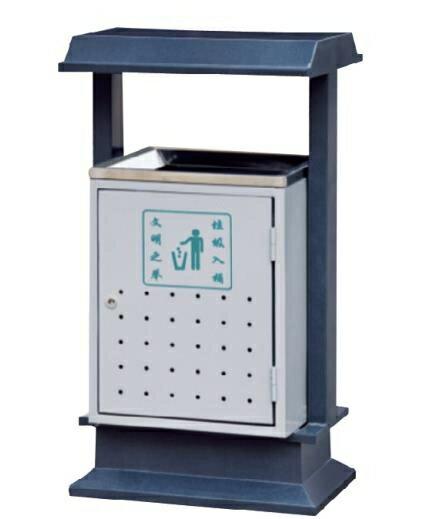 戶外垃圾桶單桶  環衛大碼垃圾桶  鋼板垃圾桶 果皮箱WY【限時八折】 全館限時8.5折特惠!