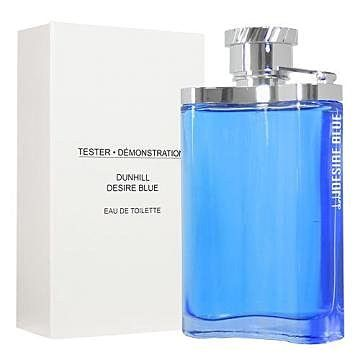 香水1986☆Dunhill Desire Blue 藍調男性淡香水 TESTER 100ml