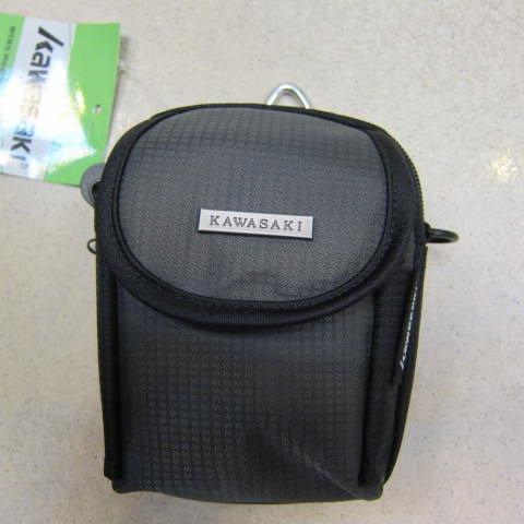 ~雪黛屋~KAWASAKI 外掛式腰包 台灣製造品質保證 三用功能PDA袋 防水尼龍布材質 AKI136 灰