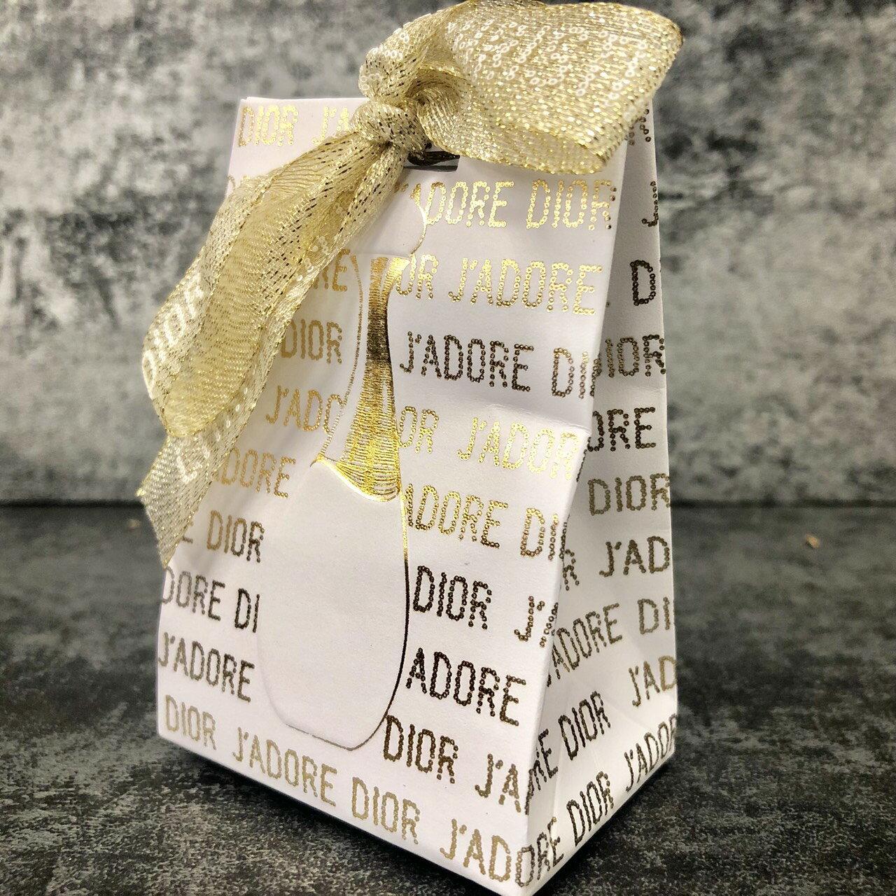 Dior 迪奧 J'adore 金萃香氛禮 5ml香氛◐香水綁馬尾◐ 1