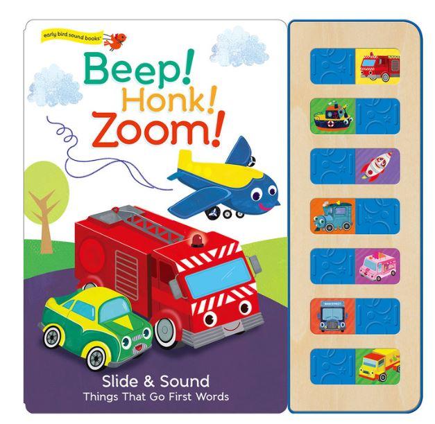 兒童有聲書(外文書) Beep! Honk! Zoom!