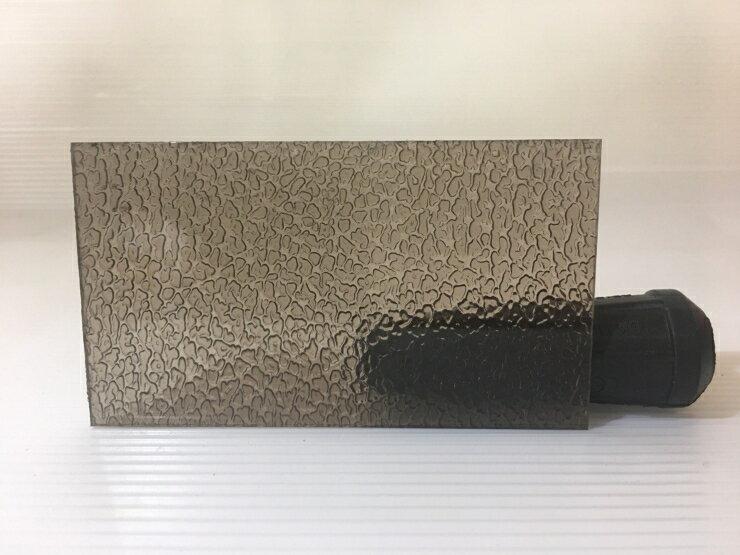 4.5mm 茶色顆粒 PC耐力板 PC板 塑鋁板 採光罩 塑膠板 DIY五金
