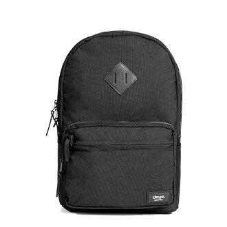 後背包 -馬德里休閒後背包-黑色-可同時裝14.1吋筆電與iPad 台灣製造