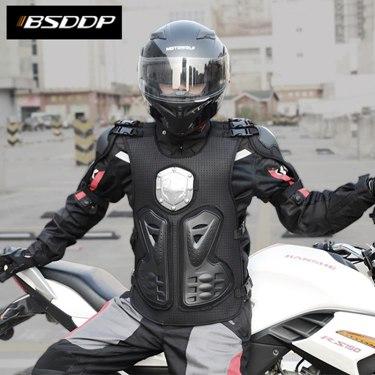 摩托車騎行防護護甲衣越野防摔騎行裝備機車防撞擊盔甲騎行服618購物節 3