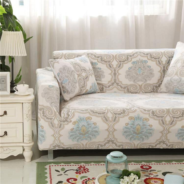 沙發套 全包彈力萬能沙發罩全蓋沙發套組合貴妃單人三人沙發墊通用沙發巾 玩趣3C 全館八八折