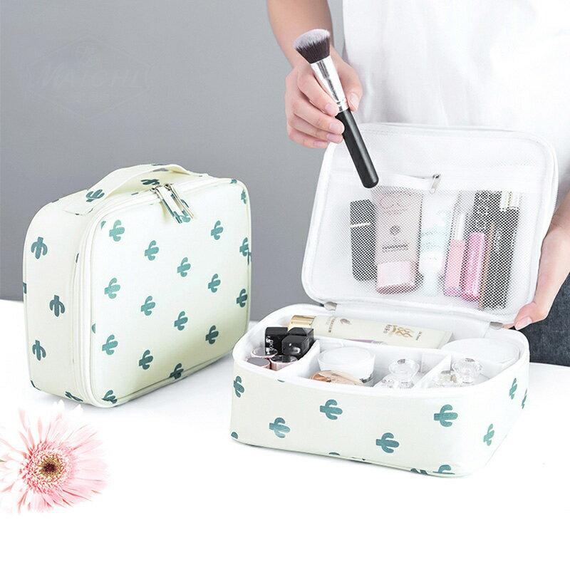容量防水特大女款式韓式迷你包簡單簡易方袋化妝品新款大中化妝包 全館八八折