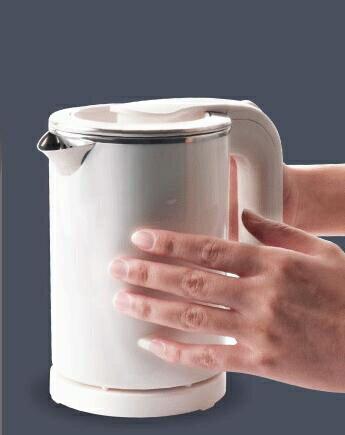 便攜迷你小電熱水壺留學110V 電壓0.5L 全館八八折