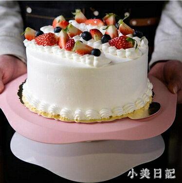 百鉆裱花臺 生日蛋糕奶油裱花用轉盤家用做蛋糕防滑轉臺烘焙工具 PA3712 全館八八折