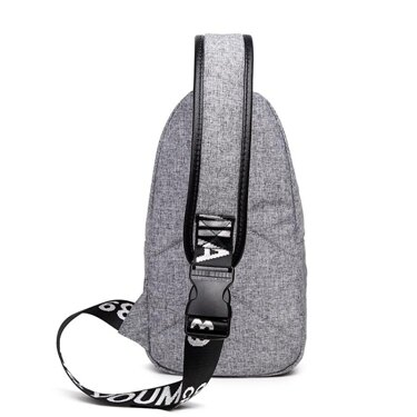 斜背包側背包 韓版潮男士學生單肩包胸包小背包斜挎包帆布包包休閒斜跨包 全館八八折