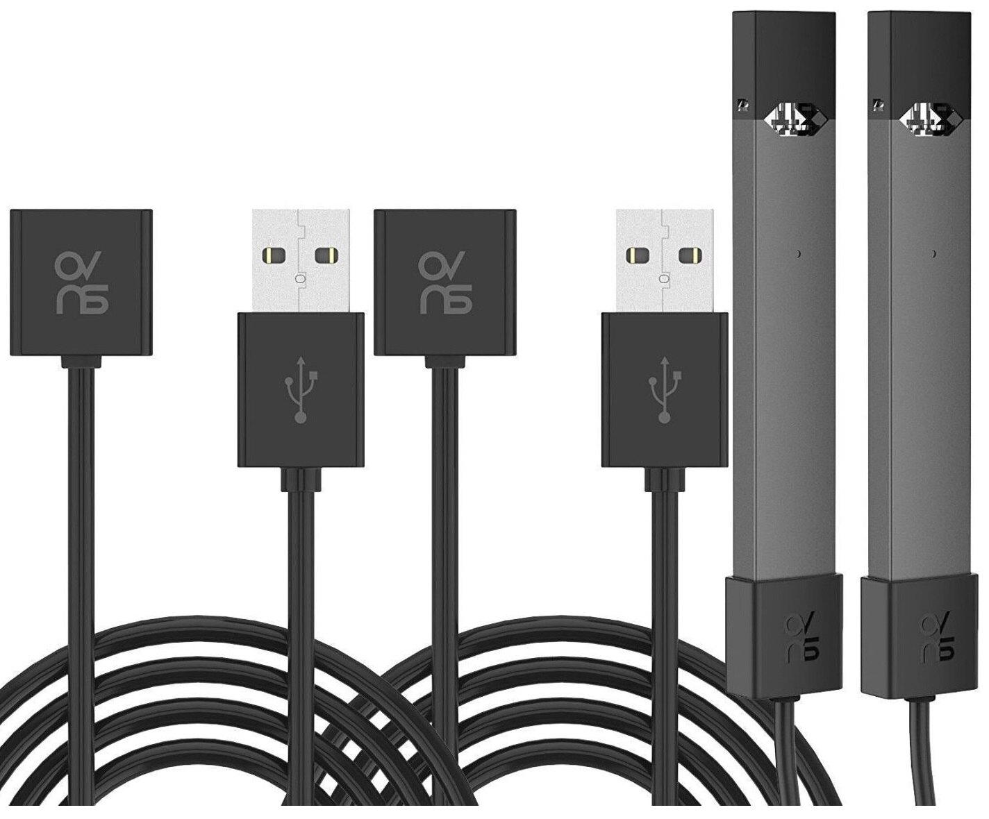 shopsmartoutlet: JUUL Charger WIRED USB Magnetic 2 6' Cable