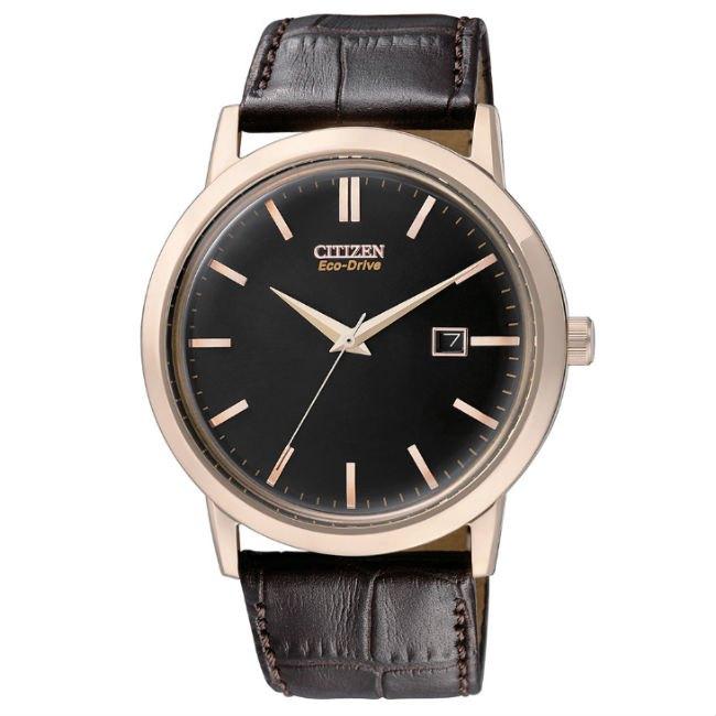 清水鐘錶 CITIZEN 星辰 Eco-Drive 光動能復刻手錶 黑 咖啡 BM7193-07E 40mm