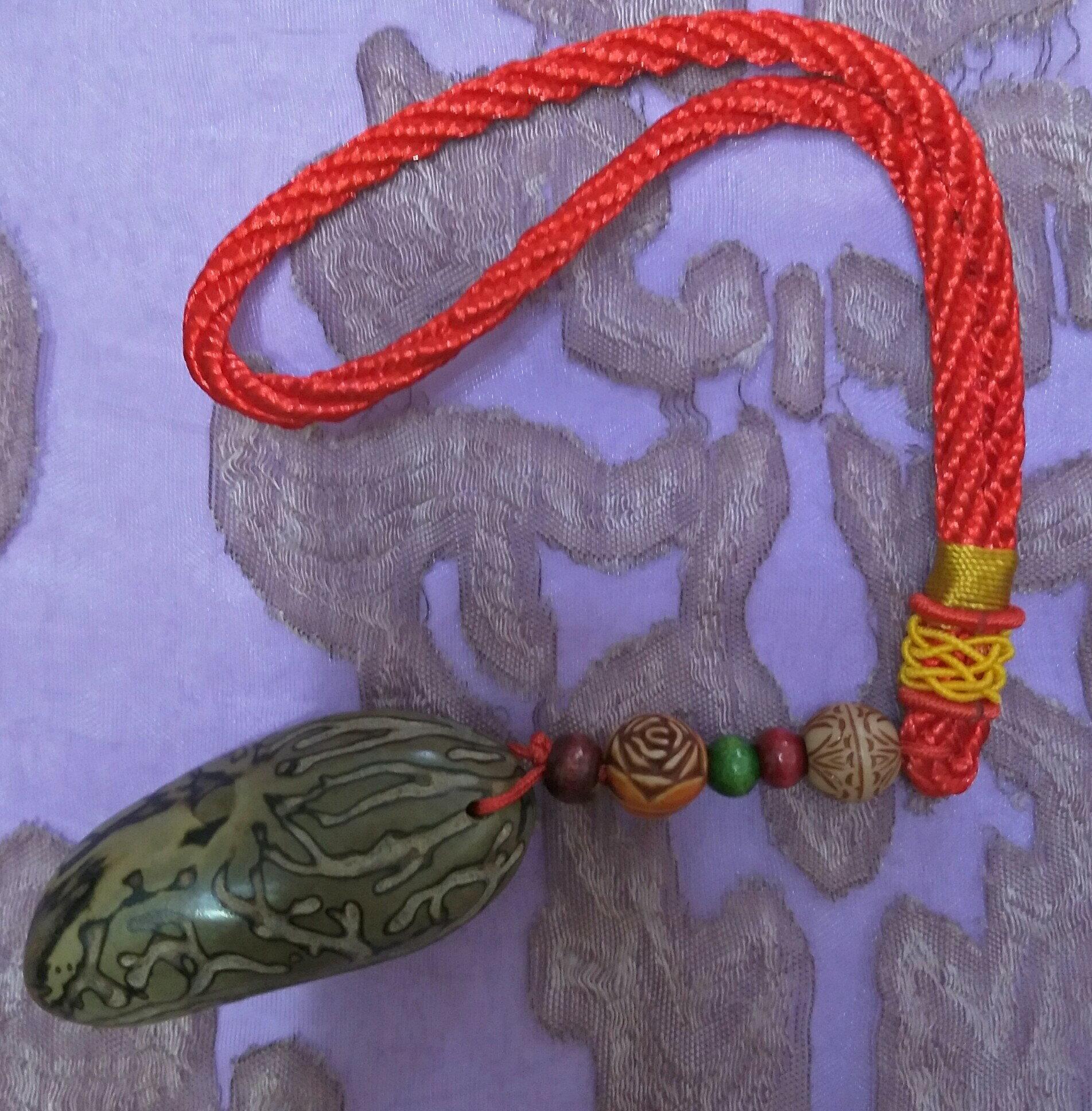 天然千眼菩提子-吊飾/ 開運商品【雅藝文創】菩提子長約5cm