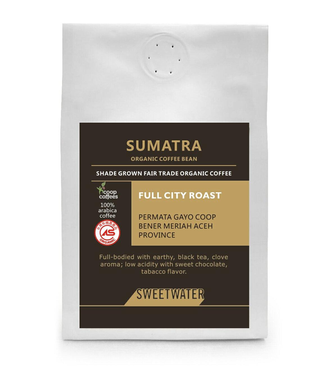 【SWEETWATER】蘇門答臘有機咖啡豆---半磅 - 限時優惠好康折扣