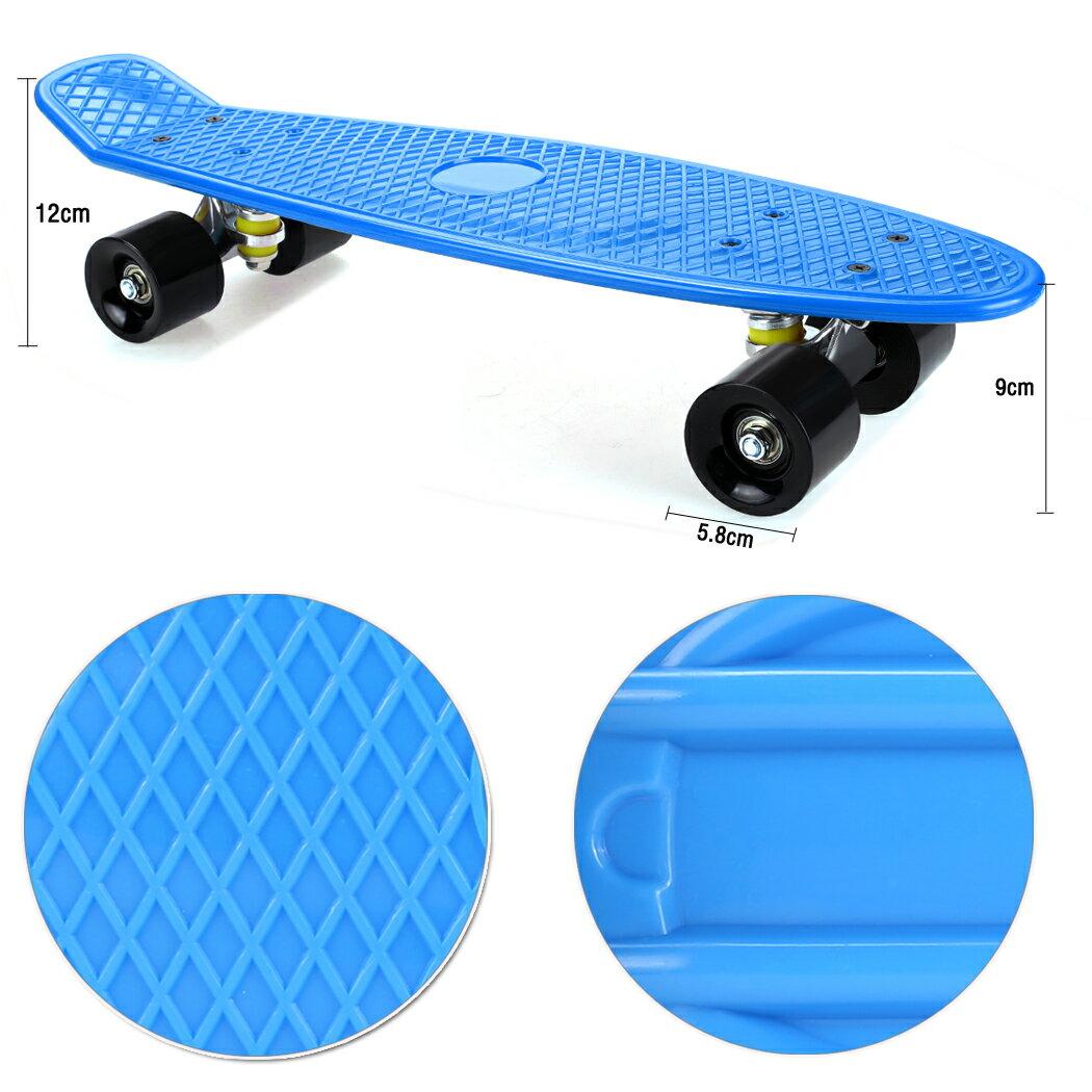 Complete Deck Skateboard Mini Plastic Skate Board 8 Colors 4
